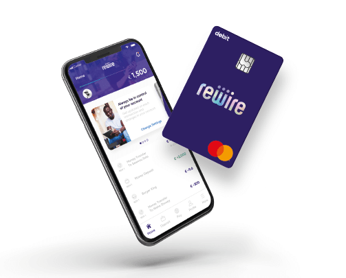 Rewire App and Mastercard